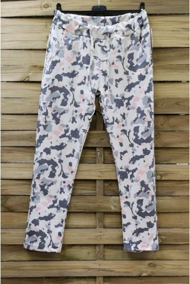 PANTS JOGG, 0665 MILITARY WHITE