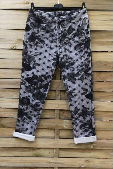 PANTS JOGG 0665 STARS GREY