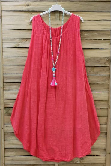 WIDE ROBE 0669 CORAL