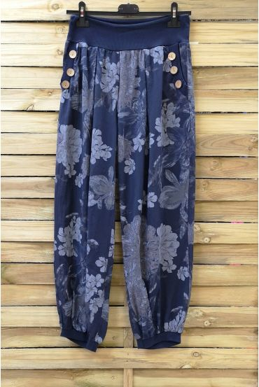 PANTS PRINTS 0693 NAVY BLUE