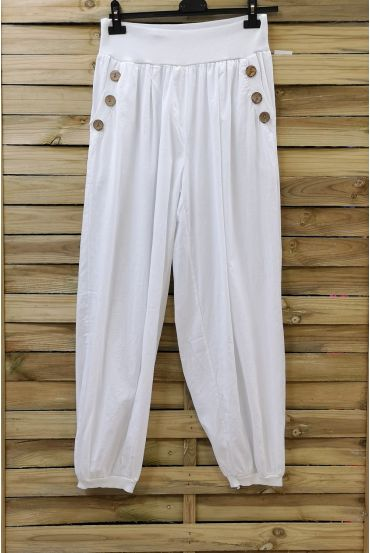 PANTS BUTTONS 0689 WHITE