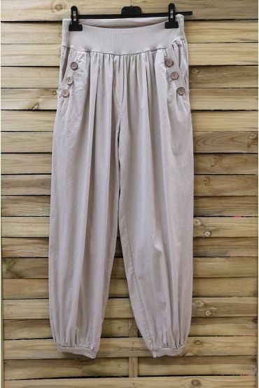 PANTS BUTTONS 0689 BEIGE
