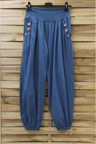 PANTS BUTTONS 0689 BLUE