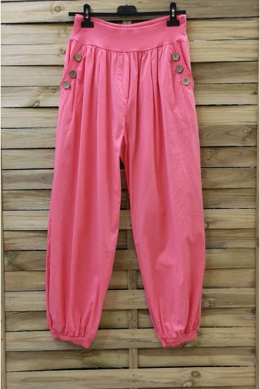 PANTS BUTTONS 0689 CORAL