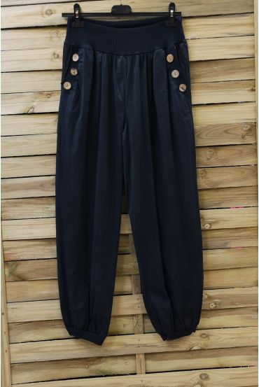PANTS BUTTONS 0689 BLACK