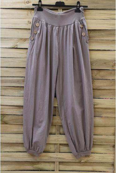 PANTS BUTTONS 0689 TAUPE
