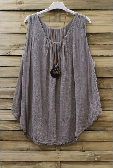 TOP AMPLE 0666 TAUPE