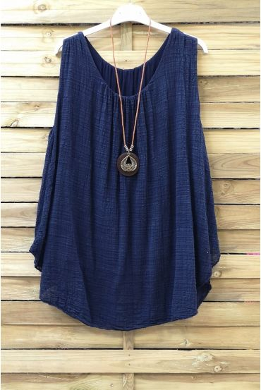 TOP AMPLE 0666 NAVY BLUE
