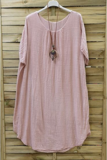WIDE ROBE 0678 ROSE