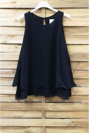 TOP CLOAKING OVERLAY 0730 BLACK