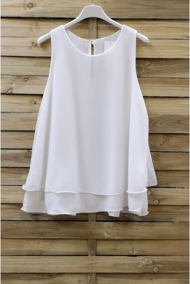 TOP CLOAKING OVERLAY 0730-WHITE