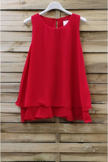 TOP CLOAKING OVERLAY 0730 RED