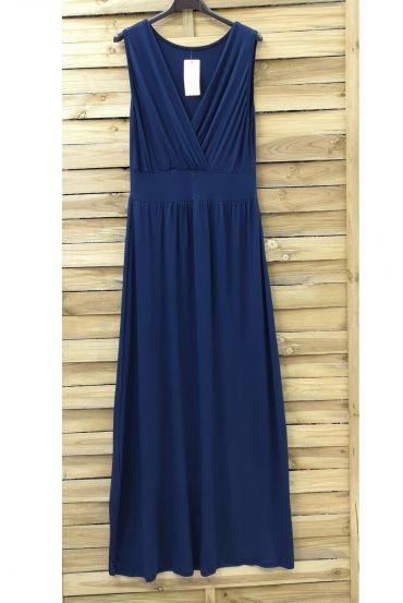 LONG DRESS 0807 NAVY BLUE