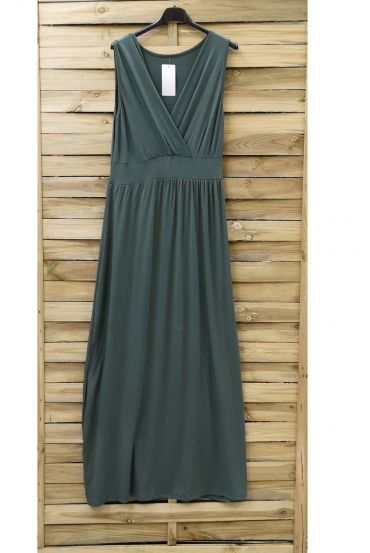LONG DRESS 0807 MILITARY GREEN