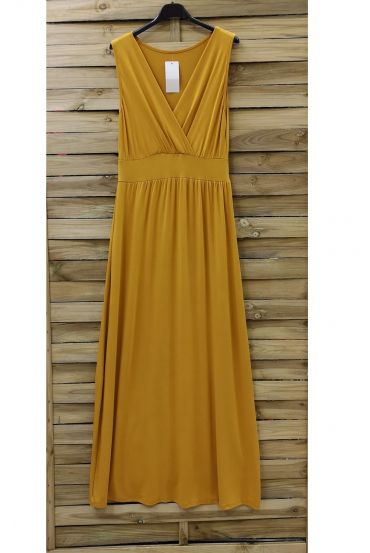 LONG DRESS 0807 YELLOW