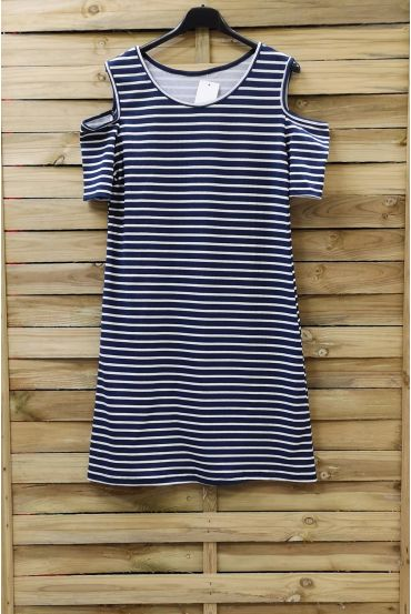 DRESS RAYEE 0220 NAVY BLUE