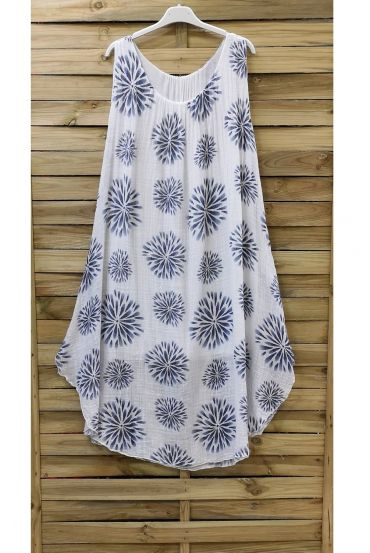 DRESS PRINTED 0841 WHITE