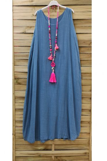 LONG DRESS 0851 BLUE