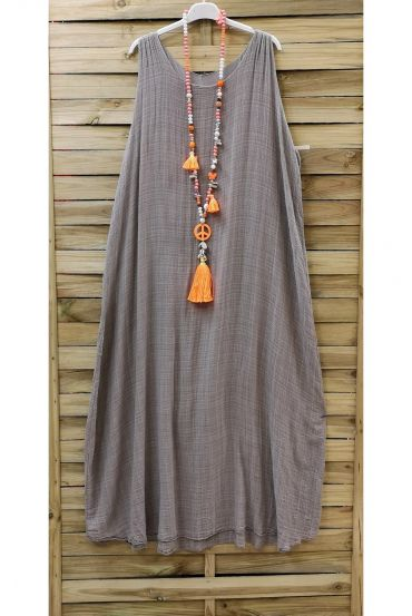 LONG DRESS 0851 TAUPE