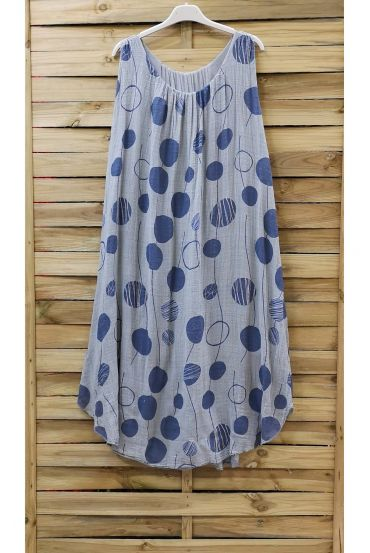 DRESS PRINTED 0852 GREY