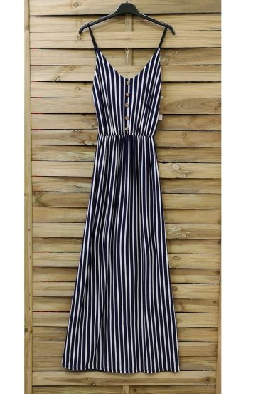 LONG DRESS 0853 NAVY BLUE