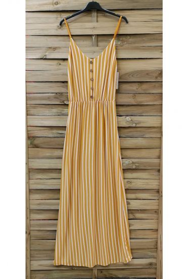 LONG DRESS 0853 YELLOW