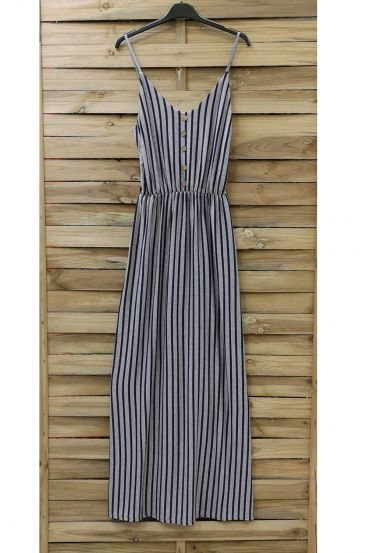 LONG DRESS 0853 GREY