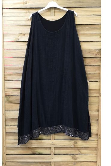 DRESS BASIC GLITTER 0844 BLACK