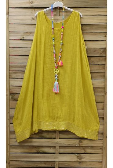 DRESS BASIC GLITTER 0844 YELLOW
