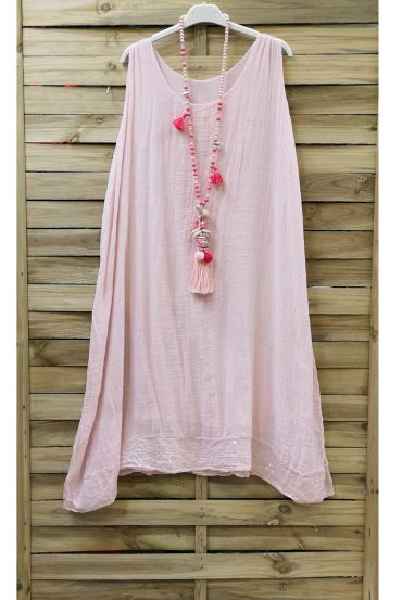 DRESS BASIC GLITTER 0844 ROSE