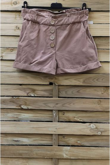 SHORTS HAVE BUTTONS 2 POCKETS 0858 TAUPE