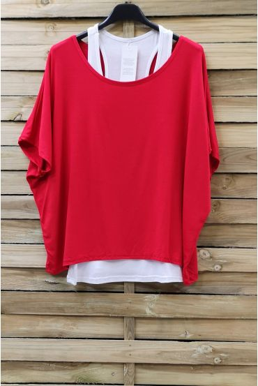 T-SHIRT + TANK TOP 0866 RED