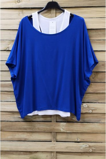 T-SHIRT + TANK TOP 0866 ROYAL BLUE