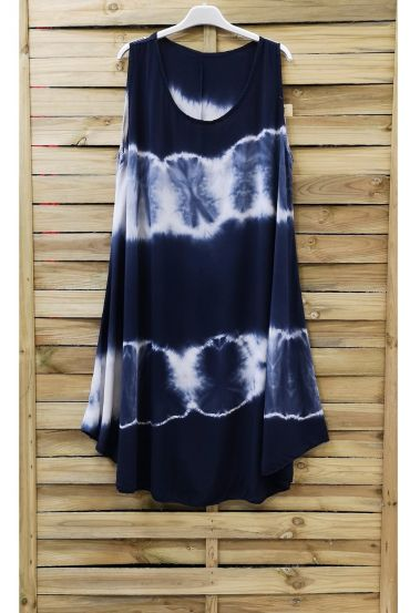 DRESS TIE-DYE 0867 NAVY BLUE