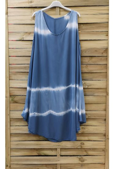 DRESS TIE-DYE 0867 BLUE