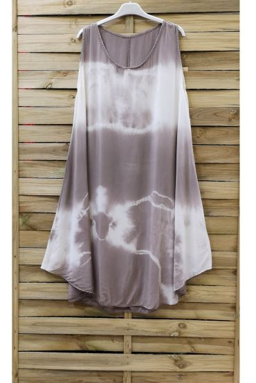 DRESS TIE-DYE 0867 TAUPE