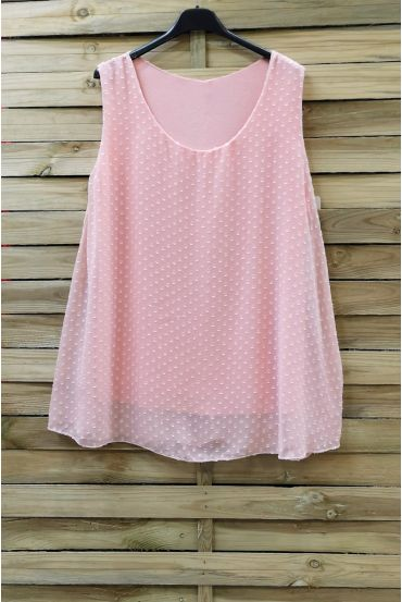 LARGE SIZE TOP 0874 PINK