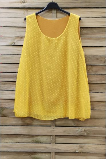 LARGE SIZE TOP 0874 YELLOW