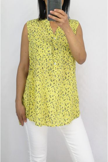 BLOUSE PRINTS 0751 YELLOW