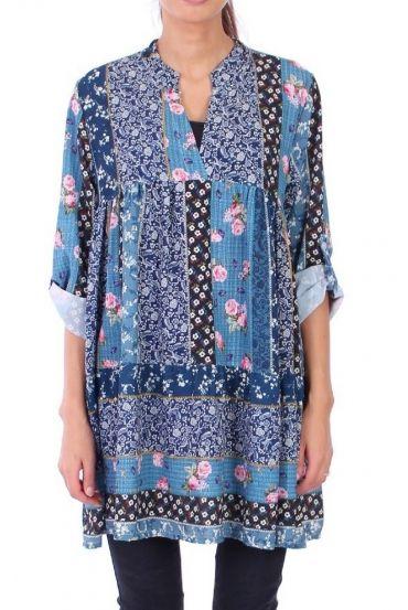 DRESS BOHEME 0310 BLUE