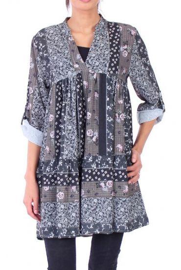 DRESS BOHEME 0310 BLACK