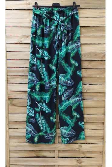 PANTS PRINTS TROPICAL 0891-2