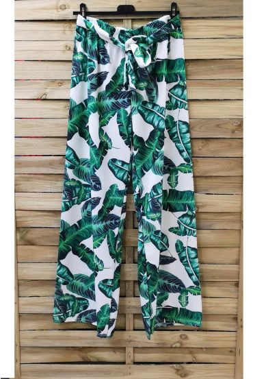 PANTS PRINTS TROPICAL 0891-1