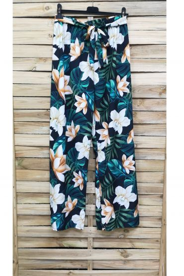 PANTS PRINTS TROPICAL 0891-6