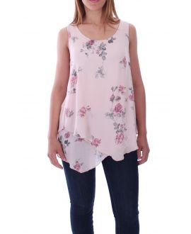 TOP DRAPES FLOWERS 9136 PINK