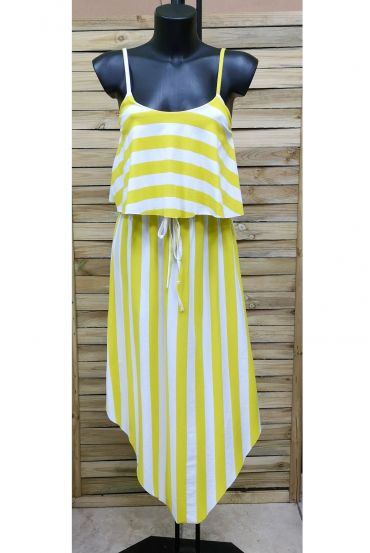 DRESS RAYEE 1027 YELLOW