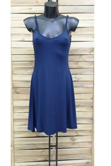 DRESS 1028 NAVY BLUE
