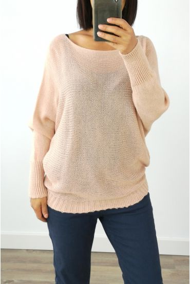 WOOL SWEATER 3016 PINK