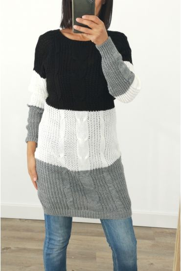 PULL THE LONG WOOL 3032 BLACK