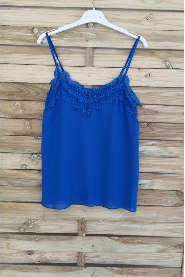 CAMISOLE LACE 3037 ROYAL BLUE